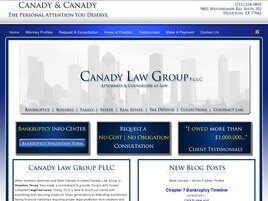 Canady Law Group, PLLC (Houston, Texas)