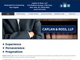 Caplan & Ross, LLP (New York, New York)