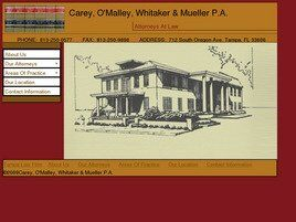 Carey, O'Malley, Whitaker & Mueller, P.A. (Tampa, Florida)