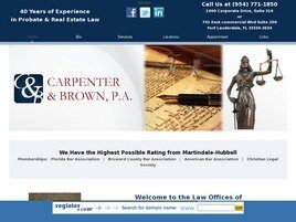 Carpenter & Brown, P.A. (Fort Lauderdale, Florida)