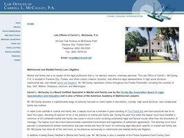 Law Offices of Carroll L. McCauley, P.A. (Panama City, Florida)