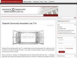 Chapnick Community Association Law, P.A. (Delray Beach, Florida)