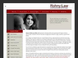 Charese Rohny Law Office, LLC (Portland, Oregon)