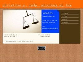 Christine A. Cady Attorney at Law (Rapid City, South Dakota)