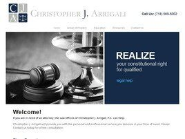 Christopher J. Arrigali, P.C. (Staten Island, New York)