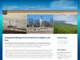 Christopher J. Dunsky PLLC (Wayne Co., Michigan)