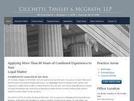 Cicchetti, Tansley & McGrath, LLP (Waterbury, Connecticut)