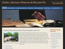 Clarke, Johnson, Peterson & McLean A Professional Association (Florence, South Carolina)