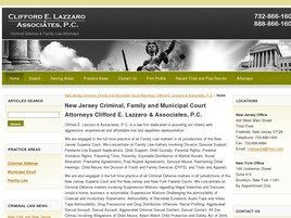 Clifford E. Lazzaro & Associates, P.C. (Middlesex Co., New Jersey)