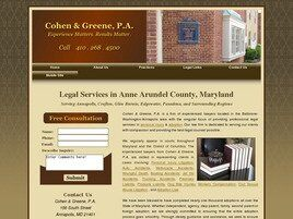 Cohen & Greene, P.A. (Annapolis, Maryland)