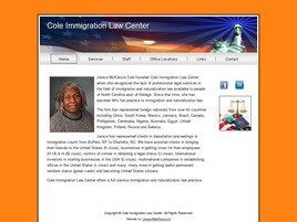 Cole Immigration Law Center (New Bern, North Carolina)