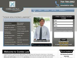 Combs Law, PLLC (Huntersville, North Carolina)
