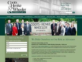 Coots, Henke & Wheeler Attorneys at Law, P.C. (Carmel, Indiana)
