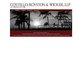 Costello, Royston & Wicker, P.A. (Naples, Florida)