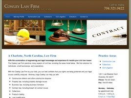 Cowley Law Firm (Monroe, North Carolina)