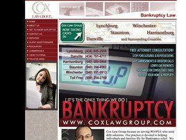 Cox Law Group, PLLC (Staunton, Virginia)