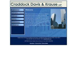 Craddock Davis & Krause LLP (Dallas Co., Texas)