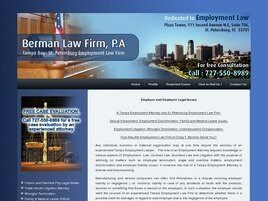 Berman Law Firm, P.A. (Pinellas Co., Florida)