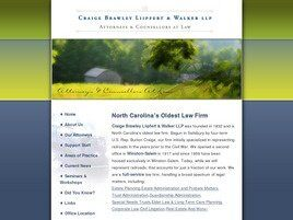 Craige Brawley Liipfert & Walker LLP (Winston-Salem, North Carolina)