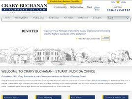 Crary Buchanan (Fort Pierce, Florida)