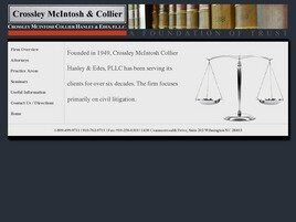 Crossley McIntosh Collier Hanley & Edes, PLLC (Jacksonville, North Carolina)