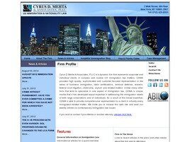Cyrus D. Mehta & Associates, PLLC (New York, New York)