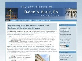 David A. Beale, P.A. (Delray Beach, Florida)