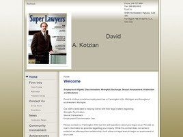 David A. Kotzian PLLC (Farmington Hills, Michigan)