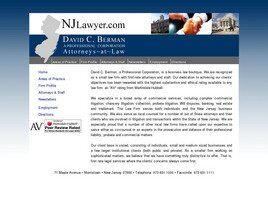 David C. Berman A Professional Corporation (Morristown, New Jersey)