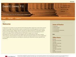 David C. Conley, P.C. (Colorado Springs, Colorado)