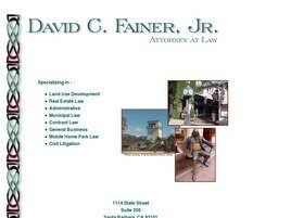 David C. Fainer, Jr. Attorney at Law (Santa Barbara, California)