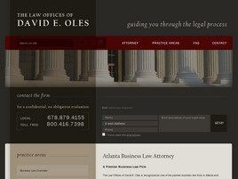 The Law Offices of David Edward Oles (Alpharetta, Georgia)