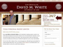 Law Offices of David M. White (Abilene, Texas)