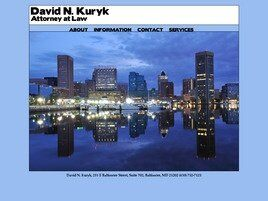 David N. Kuryk (Towson, Maryland)