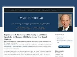 David P. Broome (Mobile, Alabama)