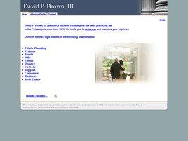 David P. Brown, III (Philadelphia, Pennsylvania)
