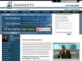 Yannetti Criminal Defense Law Firm (Suffolk Co., Massachusetts)