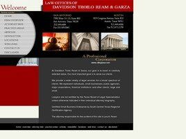 Law Offices of Davidson Troilo Ream & Garza A Professional Corporation (San Antonio, Texas)