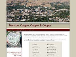 Davison, Copple, Copple & Copple (Ada Co., Idaho)