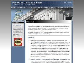 Degan, Blanchard & Nash A Professional Law Corporation (New Orleans, Louisiana)