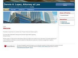 Dennis A. Lopez, Attorney at Law (Hernando Co., Florida)