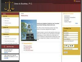 Deso & Buckley, P.C. (Washington, District of Columbia)