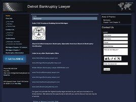 Detroit Bankruptcy Lawyer (Detroit, Michigan)