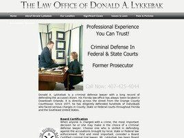 The Law Office of Donald A. Lykkebak (Winter Park, Florida)