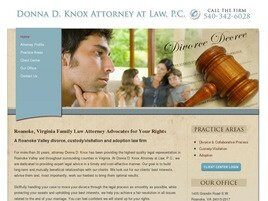 Donna D. Knox Attorney at Law, P.C. (Roanoke, Virginia)