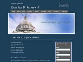 Law Office of Douglas B. Janney, III (Nashville, Tennessee)