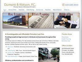 Dumont & Watson A Professional Corporation (Princeton, New Jersey)