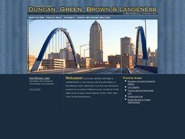Duncan, Green, Brown & Langeness A Professional Corporation (Des Moines, Iowa)