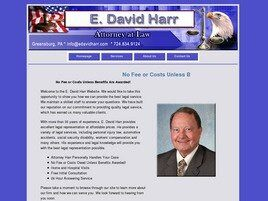 E. David Harr, Attorney at Law (Westmoreland Co., Pennsylvania)