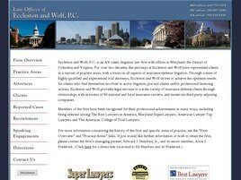 Eccleston and Wolf A Professional Corporation (Fairfax, Virginia)